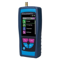 Combustion gases analyzer