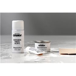 Repair set for enamel, ceramic & acryl