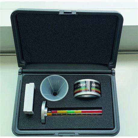 Spot-Check-Kit for shotblasting operations