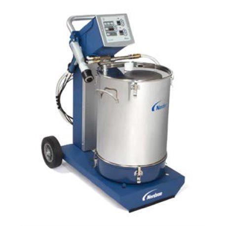 Dolly-mounted Manual Powder Enamel System