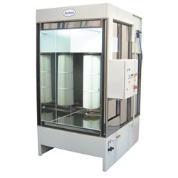 Manual powder spray-booth, Type Micromax 1