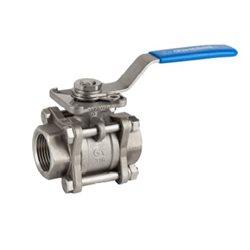 Stainless steel full port ball valve