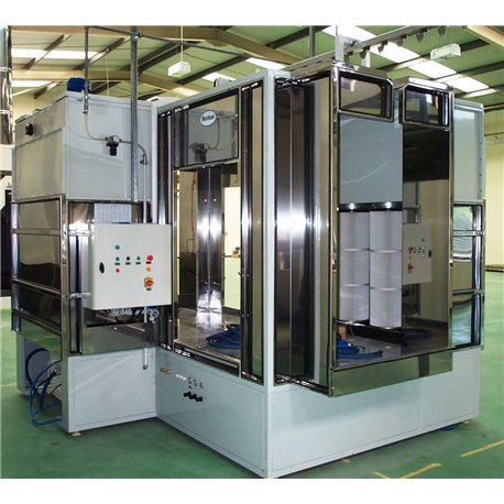 Manual powder spray-booth, Type Micromax 3