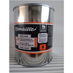 Remaille, liquid cold enamel, in 750 ml tin
