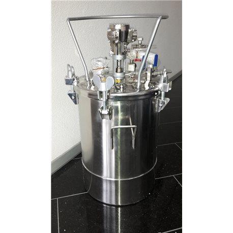 Manual wet enamel spraying system