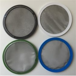Spare sieve for fineness set