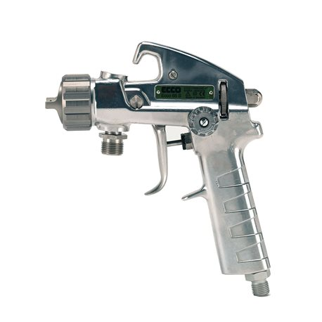 Manual HVLP spray-gun for wet enamel
