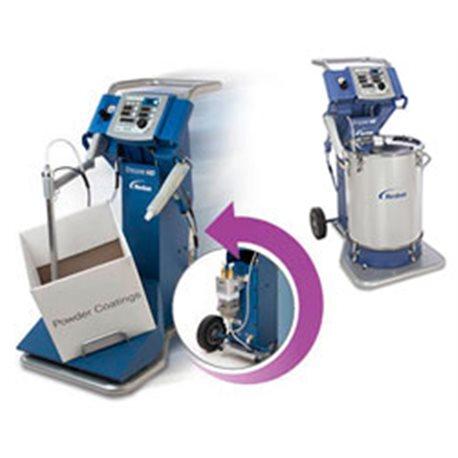 Mobile manual powdercoating system, type Encore HD VBF