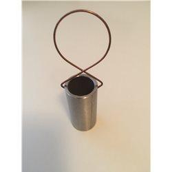 Stainless steel cylinder for Ferro slumptester