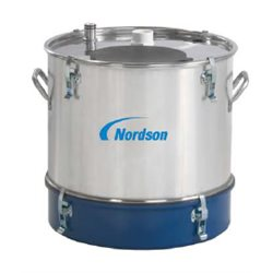 Nordson powder feed hopper