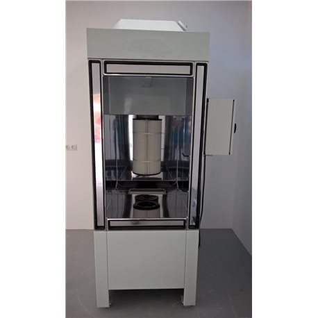 Manual powder spray-booth, type Micromax 1/2