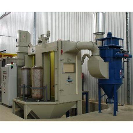 Offline boiler enameling machine