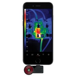 Thermal imaging camera for smart phone