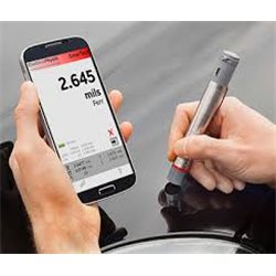 Smart wireless coating thickness meter