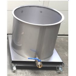 Mobile mixing tanks